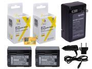 2 pc BP-718 BP718 Battery + Rapid Travel Charger for Canon VIXIA HF M50 M52 R30 R32 R40 R42 R50 R52 M500 R300 R400 R500 BP718 HFR500 R306 R36 R38 M506 M56 M52 2200 mAh
