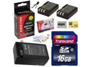 2 Extended Life Replacement Battery Packs For the Nikon EN-EL9 EL9 2000MAH Each 4000MAH in Total For The Nikon D40 D40x D60 D3000 D5000 DSLR Digital Camera + 1 Hour Charger + 16GB+ $50 Gift Card!