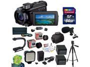 Sony 96GB HDR-PJ790 HD Handycam Camcorder/Projector with Must Have Accessory Kit Includes 32GB High-Speed Error-Free SD Memory Card + SD Card Reader + 52MM 3 Piece Pro Filter Kit (UV, CPL, FLD) + Sony