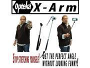 "Opteka X-ARM Camera Extender Handheld Monopod (extends up to 37"") For Sony DSC-S2100 TX1 TX5 TX7 W300 W310 W330 W350 W370 WX1 T90 G1 N2 S780 S750 W180 W230 T900 w190 T77 S950 Perfect For Self Portrait"