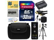 Must Have Kit for Sony Alpha includes 32GB SDHC Memory Card, NP-FM500H Battery, Tripod, Carrying Case, Wireless Shutter, HDMI to HDMI Mini Cable, SD Card Reader, Cleaning Kit, Bonus $50 Gift Card