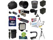 Advanced Accessory Package for the Canon Vixia HF G10, HF G20, HF G30, HF S20, HF S21, HF S30, HF S200 Includes 64GB High Speed Error Free SDHC Memory Card + Professional 5 Piece Filter Kit (UV, CPL,