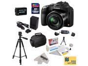 Panasonic Lumix DMC-FZ70 Digital Camera with 3-Inch LCD With 32GB SDHC Card, Reader, Battery, Rapid Charger,  Case, Tripod, Lens Cleaning Kit including LCD Screen Protectors, $50 Photo Print Gift Card