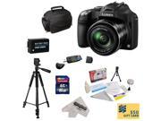 Panasonic Lumix DMC-FZ70 Digital Camera with 3-Inch LCD With 16GB SDHC Card, Reader, Battery,  Case, Tripod, Lens Cleaning Kit including LCD Screen Protectors, $50 Photo Print Gift Card