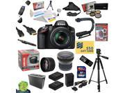 Nikon D3200 Digital SLR Camera with 18-55mm NIKKOR VR Lens With All Sport Accessory Package: 32GB High-Speed SDHC Card + Card Reader + 2 Extra Batteries + Battery Charger + Opteka HD2 0.20X Wide Angle