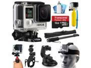 GoPro HERO4 Hero 4 Black with 16GB Extreme Sport Accessory Package (CHDHX-401)