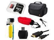 32GB Beginner Accessory Package GoPro Hero 4 HERO4 Black Silver Camcorder 3 3+