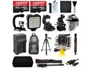 128GB All You Need Accessory Package Bundle for GoPro HERO4 Hero 4 Black Silver
