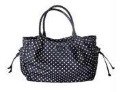 Kate Spade Spot Dot Stevie Baby Diaper Multifunction Bag Tote Black White