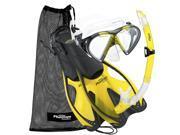 Phantom Aquatics Speed Sport Mask Fin Snorkel Set, Adult