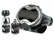 Cressi MC9 Ellipse Balanced Scuba Diving Regulator - Yoke