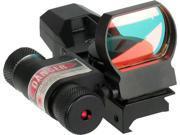 New Sightmark Laser Dual Shot Reflex Sight - Multi Reticle, Matte