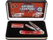 Case Louisville Nat Champions Knife CA