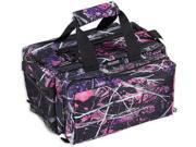 Bulldog Cases Muddy Girl Camo Range Bag, Deluxe, with Strap - 13inx7inx7in BD910