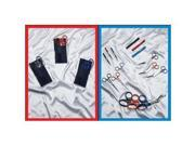 "EMI 807 Velcro Nylon Cordura Blue Colormed Holster Set For Belt To 2-1 2"""