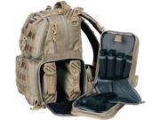 GPS Tactical Tactical Range Backpack, Tan