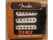 Fender Tex-Mex Strat Pickup set - white