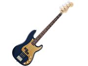 Fender Deluxe Active P Bass Special Rosewood Fretboard Navy Blue Metallic