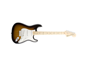 Fender American Special Stratocaster Two Tone Sunburst Maple Fretboard Electric Guitar with Gigbag