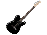 FENDER Standard Telecoustic Acoustic Electric Guitar Black NEW