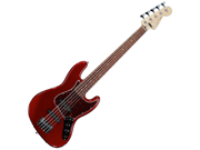 Fender Deluxe Active Jazz Bass V 5-String Rosewood Candy Apple Red NEW