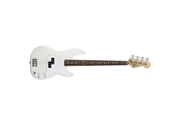 Fender Standard Precision Bass Guitar Rosewood Neck Arctic White NEW
