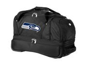 Denco Sports Luggage NFL Seattle Seahawks 22in. Rolling Duffel