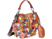 AmeriLeather Rainbow Feesh Purse