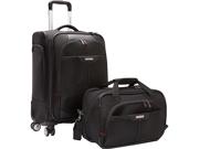 Samsonite Elite Spinner & Laptop Boarding Bag Set Exclusive