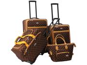 American Flyer AF Signature 4-Piece Luggage Set
