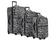 American Flyer Safari Collection 3 Piece Luggage Set EXCLUSIVE