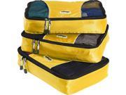 eBags Medium Packing Cubes (3Pcs Set) - Canary