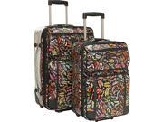 Sydney Love Stepping Out 2 Piece Luggage Set