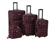 Rockland Luggage 4 Piece Expandable Luggage Set