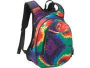 Obersee O3 Kids Pre-School Tie-Dye Backpack with Integrated Lunch Cooler