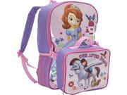 Disney Sofia The First Backpack with Lunch Box