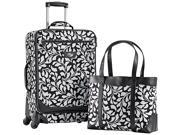 American Tourister Color Your World 2 Carry-On Spinner & Tote Luggage Set