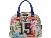 Nicole Lee Numeric 15 Print Satchel Bag