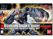 Gundam HGUC 135 Unicorn Gundam 02 Banshee Unicorn Mode 1/144 Scale