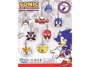 Sonic the Hedgehog: Head Danglers Trading Figure Set of 8