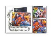 Marvel: Spiderman Printed Comc Strip Tri-Fold Chain Wall