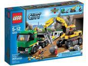 Lego City: Excavator Transporter #4203