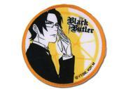 Black Butler 2 Claude & Contract Round Patch