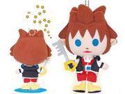Kingdom Hearts Avatar Sora Mini Plush Keychain