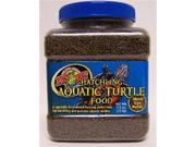 Zoo Med Hatchling Aquatic Turtle Food 1/8in Size Pellet 8oz