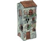 Vo-Toys  Aquatic Old World Village Collection 5 Window Village w/Balcony 7in