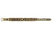Jungle Queen Dog Collar 18in Snow Leopard 141