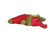 Vo-Toys Shimmer n Shine Mesh Elephant 9in Dog Toy