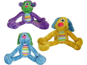 Vo-Toys Grabbables Plush 17in Dog Toy Assorted Styles