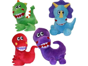 Vo-Toys Jumbo Jurassics 7in Dog Toy Assorted Styles